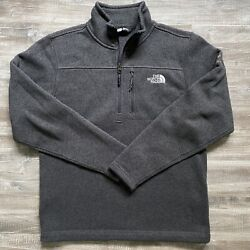 North face charcoal fleece jacket Size Small $25.00