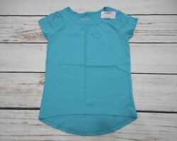 THE CHILDREN#x27;S PLACE GIRLS SIZE 7 8 AQUA TOP NEW WITH TAGS $3.99