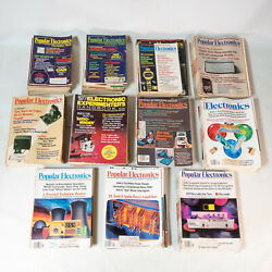Huge Lot 128 Popular Electronics 1972 1982 Near Complete Incl. MITS Altair 8800 $531.30