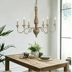 Gray Barn Blueberry Butte Belgian Distressed White Chandelier for Dining Room $225.95