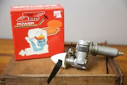 Super Tigre Power GS 40 Ring ECO RC Airplane Engine Made in Italy with Propeller $100.00