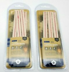 2 Packs of 5 REPLACEMENT LANTERN WICKS Stansport #127130amp; 127 900 1 2quot; X 6quot; ea $8.88