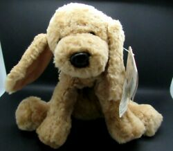 GUND PUDDLES PLUSH DOG 10quot; RED PATENT COLLAR #5316 NEW WITH TAGS $13.99