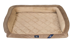 Serta Gel Memory Foam Quilted Ortho Couch Dog Bed Extra Large 44quot;x30quot; $81.80