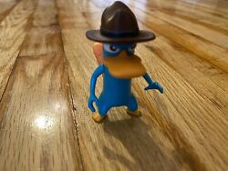 DISNEY; PHINEAS amp; FERB Agent Perry the platypus collectible figure $28.99