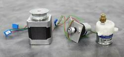 Lot of 3 Motors with Gearheads Vexta and Micro Motors with 90 Day Warranty $69.98