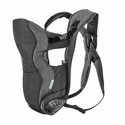 Evenflo Convertible Baby Carrier Chevron Gray Padded Back Straps Adjust New $34.17