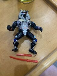 1991 TMNT Chrome Dome Action Figure Vintage With accessories $8.39