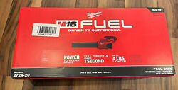 Milwaukee 2724 20 M18 FUEL™ Blower Tool Only Brand New in BOX $144.49