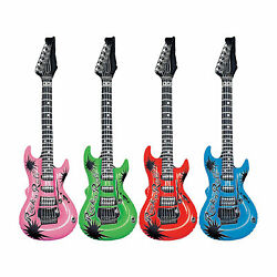 INFLATABLE GUITAR 24quot; NOVELTY HALLOWEEN PARTY FASHION GREAT FUN KIDS GIFT MUSIC $2.00