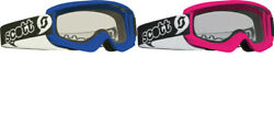 New Scott USA Youth Agent Mini Goggles Men's Motorcycle Goggles $19.95