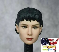 1 6 Female Head Audrey Hepburn Roman Holiday FOR 12quot; FIGURE Phicen Hot Toys❶USA❶ $31.99