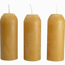 UCO Candle Lantern 3.5 Inch Candles 3 Pack 12 Hour Beeswax $18.41