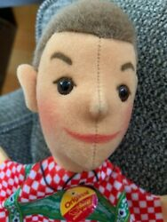 STEIFF GERMANY PUPPET BOY VINTAGE WITH ALL ORIGINAL TAGS EXCELLENT $39.99