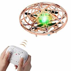 Kids Flying Toys Remote Drones for Beginner Kids Boys and Girls Gold cars fun $27.46