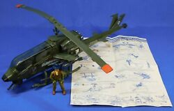 GI JOE DRAGONFLY HELICOPTER WITH WILD BILL FIGURE 1983 UNBROKEN WORKS COMPLETE $169.99