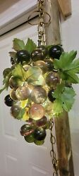 Lucite Grape Light Variegated green 13 in $75.00