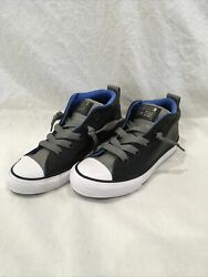 Converse All Star Boys 13 Leather New $19.99
