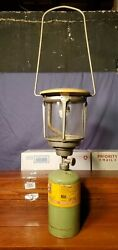 Vintage 70s yellow Primus lantern model 2158 made in USA $41.00