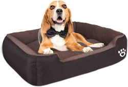 Warmer Pet Dog Beds For Small Medium Large DogRectangle Pet Bed Thickened Enoug $38.99