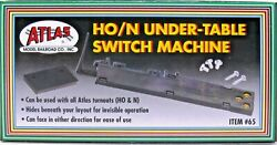 ATLAS #65: HO amp; N Scale Under Table Switch Machine C10 New Store Stock $9.95