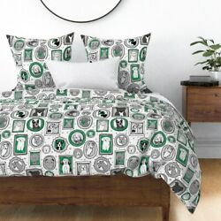 Dog Dogs Dog Breed Dog Breeds Pets Dog Mom Pet Sateen Duvet Cover by Roostery $224.00