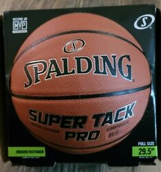 Spalding NBA 29.5 Super Tack Pro Composite Leather Indoor Outdoor Basketball $32.99