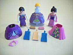 PLAYMOBIL Lot Ladies With Fancy Dresses amp; Accessories $12.99