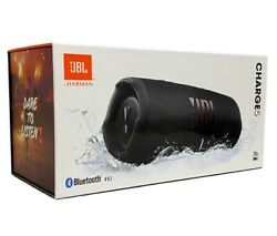 NEW JBL Charge 5 Portable Bluetooth Speaker IP67 Waterproof amp; USB Charge Out ⚫️ $158.99