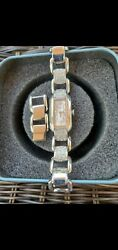 womens fossil watch stainless steel $13.00