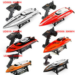 Udirc RC Electric Racing Boat 2.4G Remote Control High Speed Boat for Adults Kid $144.98