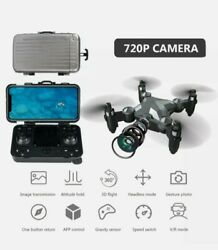 RC Drone with Camera 720P Wifi FPV 2.4G Mini Foldable Quadcopter Selling As Is $26.99
