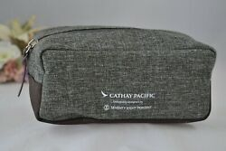 Cathay Pacific Business Class Amenity Kit Seventy Eight Percent Travel Bag NOS $15.99