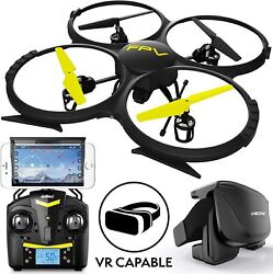 UDI RC Drones with Camera for Adults and Kids U818A WiFi FPV 720p HD Camera Dr $79.99