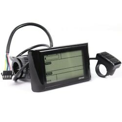 Distances LCD Display Equipment For Electric Bicycle Meter Panel Useful $48.01