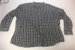 The Foundary Easy Care Long Sleeve Button Down Size Men's 5XL $15.00