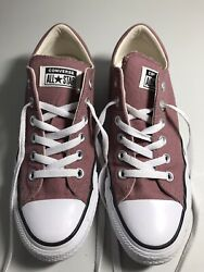 Converse All Star Women#x27;s Madison Ox Size 8 Low Top Saddle Brown Pink Mauve EUC $19.00