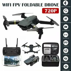 FPV Wifi Drone HD Camera Aircraft Foldable Quadcopter Selfie Toy Trajectory Flip $26.06