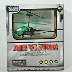2CH Mini Infrared Remote Control Helicopter Toy XB Air Victor Brand NEW $19.98