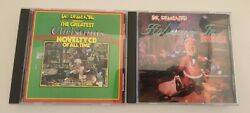 Dr Demento Holidays in Dementia amp; The Greatest Christmas Novelty Comedy CD Lot $10.99