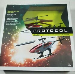 Protocol Dash 3 Channel Remote Controlled Helicopter Drone $23.39
