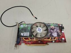 MSI N9800GT T2D512 OC Nvidia GeForce 9800GT 512MB PCIe Gaming Graphics Card $33.74