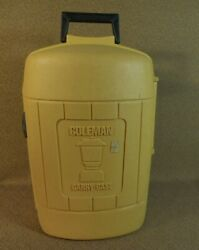 Vintage Coleman Gold Yellow Clamshell 275 Lantern CARRY CASE 7 of 81 $49.99