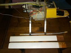 GMP Cricket RC Helicopter with Futaba Radio Vintage $325.00