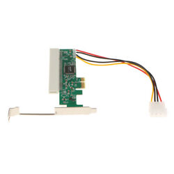 High Efficiency PCI E to PCI Riser Card Converter Adapter for PC $12.76