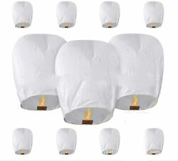 Chinese Paper Lanterns Liveasily 100% Biodegradable Two Packs of 5 QTY 10 New $14.99
