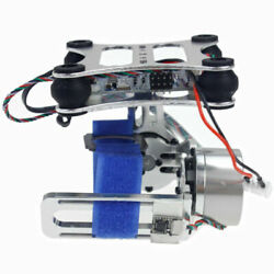Aluminum 2 Axis Gimbal Camera Mount w Brushless Motor Controller for DIY Drone $40.46