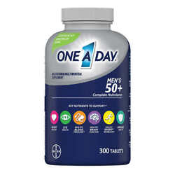 One A Day Men#x27;s 50 Healthy Advantage Multivitamin 300 Tablets EX12 2022 $25.94