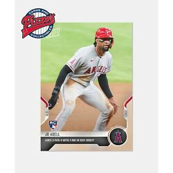 Jo Adell RC Angels 2021 MLB TOPPS NOW Card 611 Presale $5.22