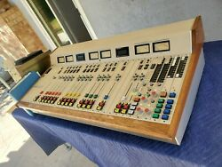 Pacific Recorders PRamp;E BMX III 22 Broadcast Console w Power Supply amp; Manual $1250.00